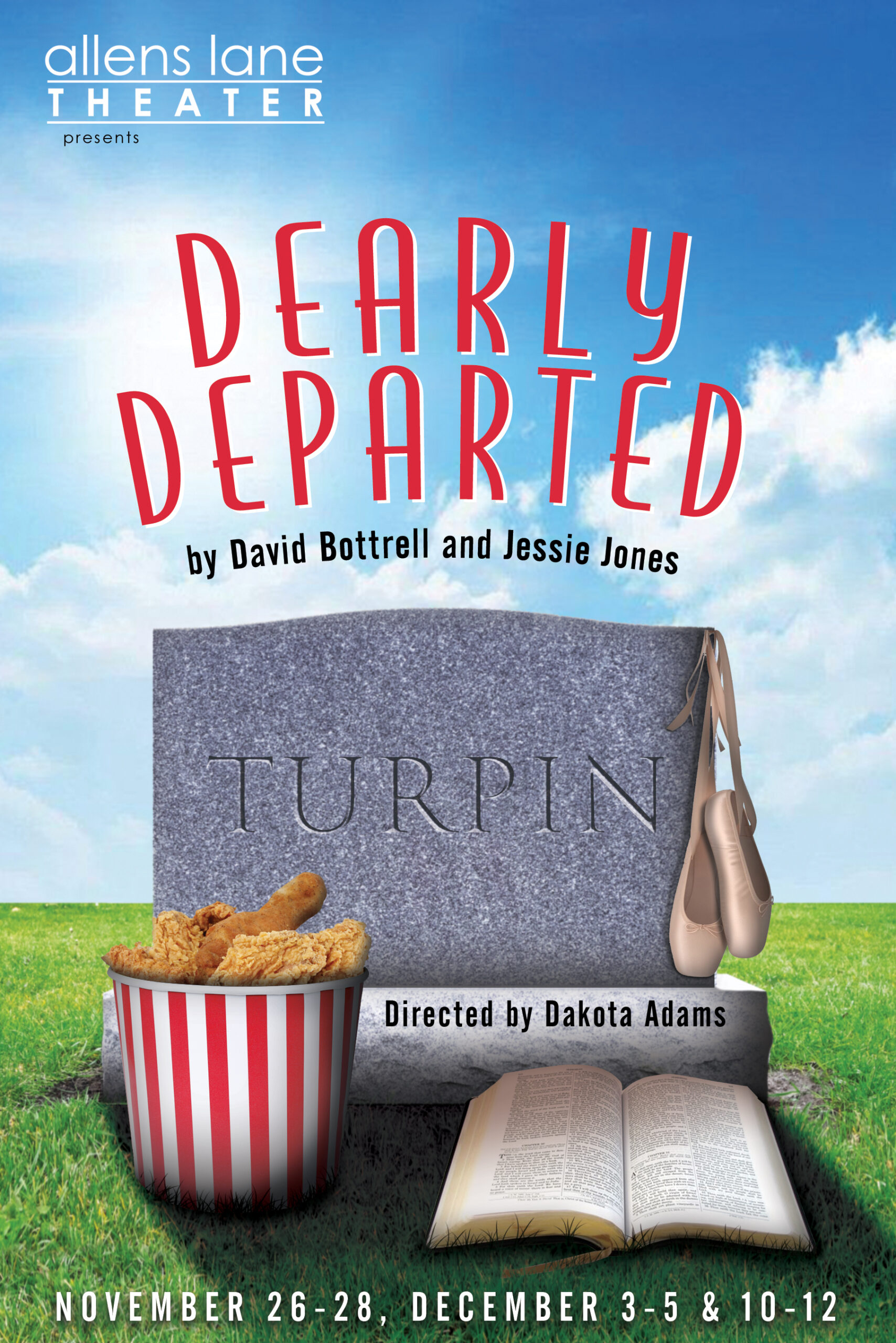 Dearly Departed logo date
